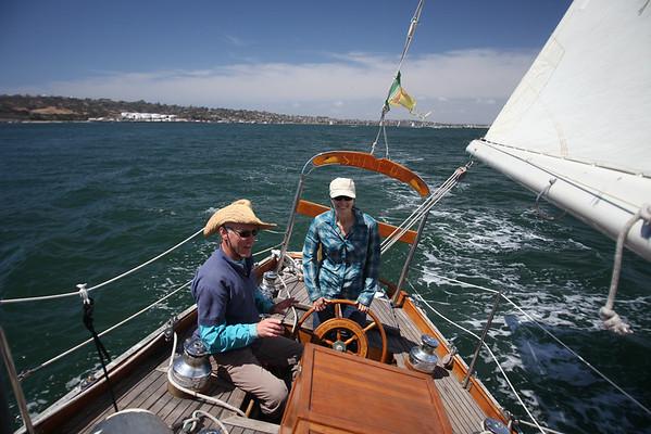 Sailing - San Diego - April 2014